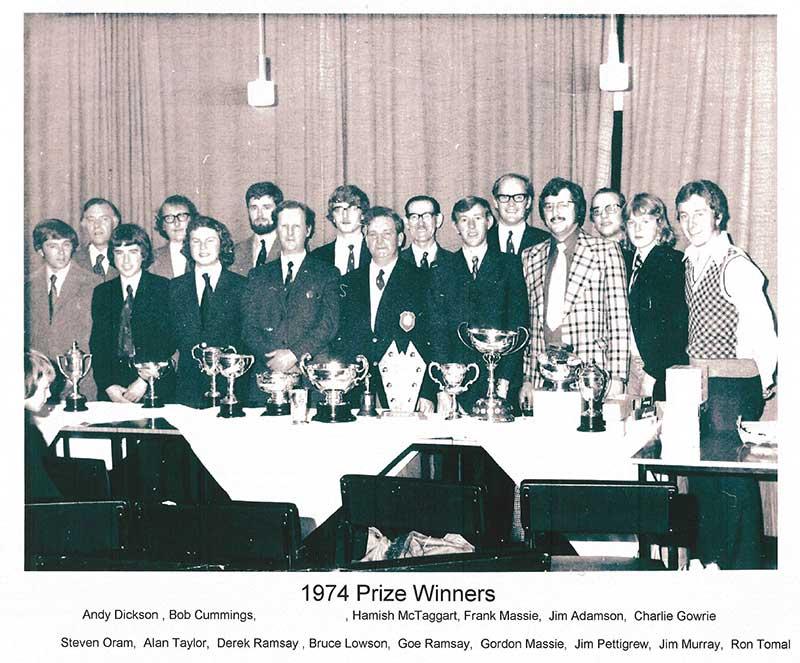 1974 Prize Winners